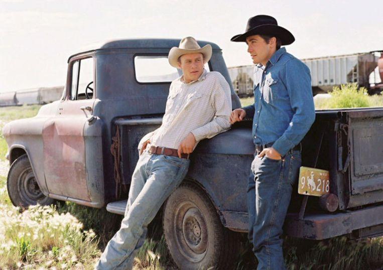Kannibaal Morley beweerde dat hij op de fatale avond met zijn geliefde naar Brokeback Mountain had gekeken, een film over twee cowboys die proberen hun affaire geheim te houden. Foto EPA Beeld