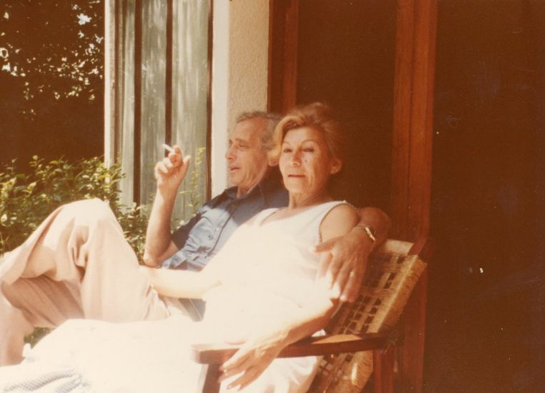 Broer Jules en schoonzus Olga. Beeld Archief