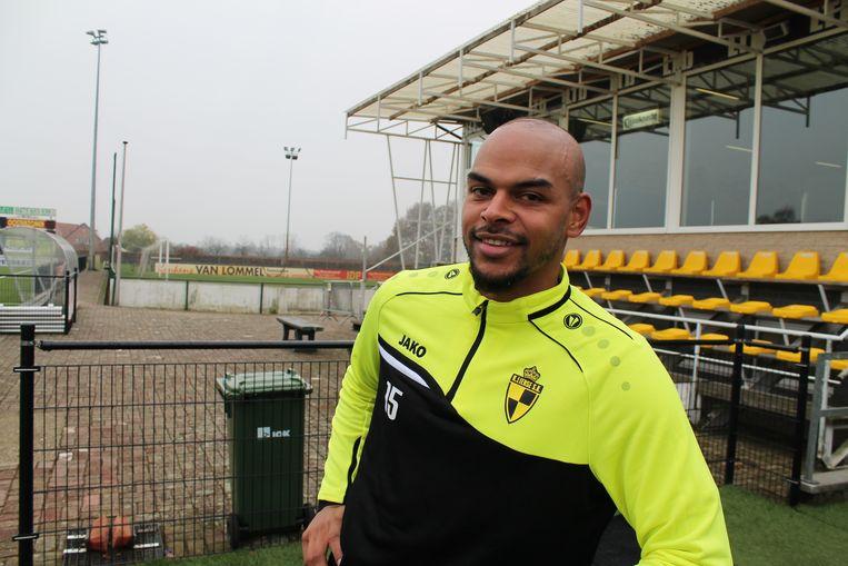 Marvin Ogunjimi in het trainingscomplex van Lierse Kempenzonen.