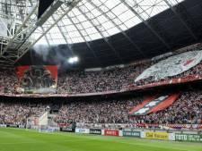 Feyenoord-supporters niet welkom in Amsterdam