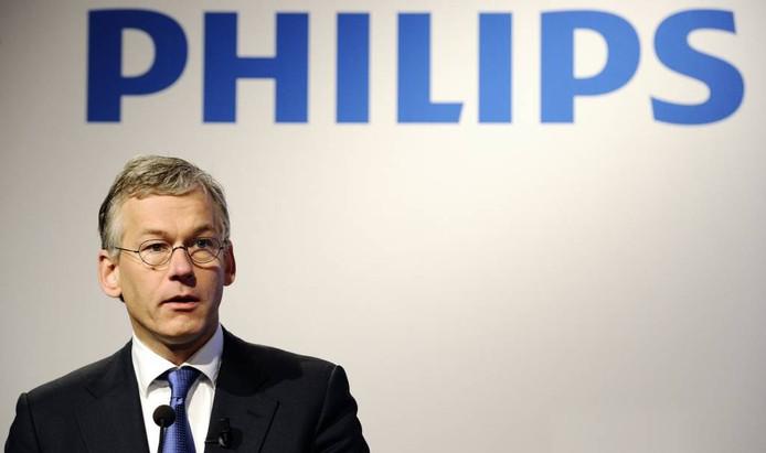 Philips-topman Frans van Houten. FOTO Lex van Lieshout/ANP