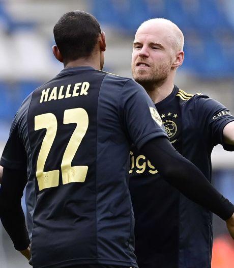 Haller helpt Ajax: moeizame zege als generale voor AS Roma-thuis