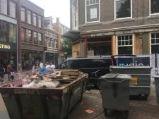 Guusje kampt met bouwpech. Maanden later het terras op in Apeldoorns winkelhart