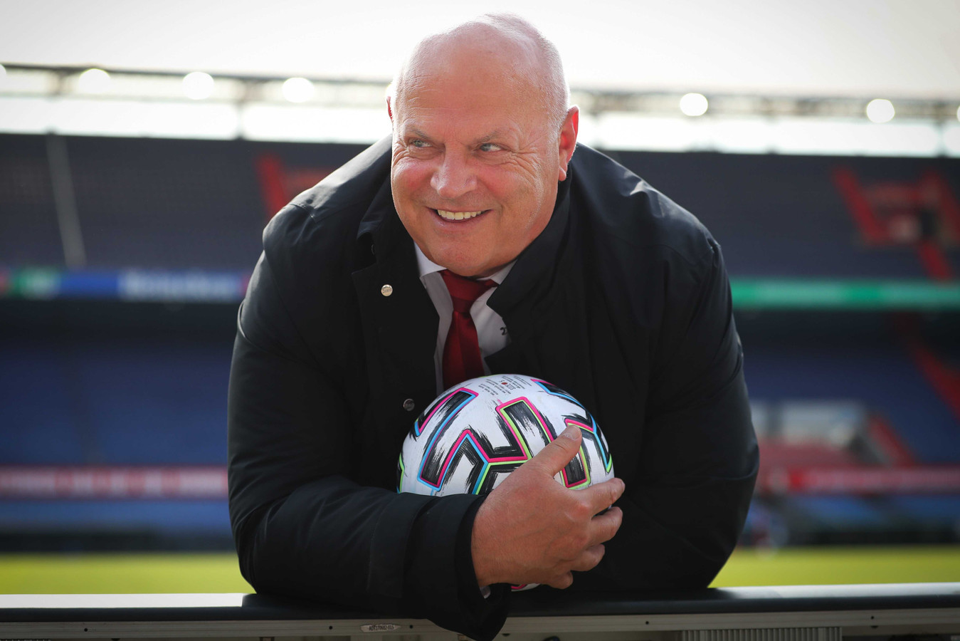 Feyenoord teammanager en voormalig Sparta doelman Bas van Noortwijk