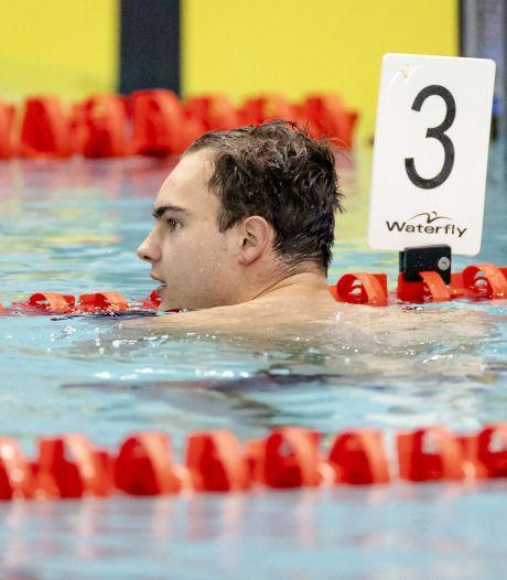 Nijmeegse zwemmer Nyls Korstanje komt honderdste tekort voor Spelen