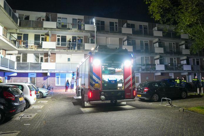Brand in een flat in Oss