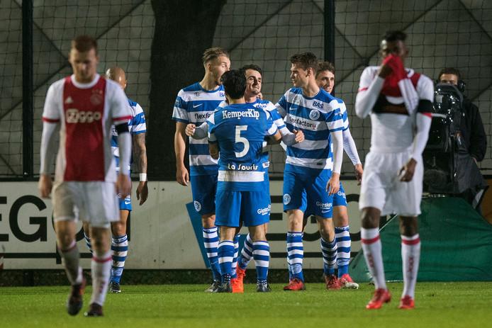 De Graafschap juicht, Jong Ajax baalt.
