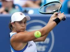 Barty meldt zich af voor WTA Finals en beëindigt tennisseizoen