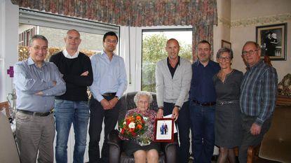 100ste verjaardag voor Anna