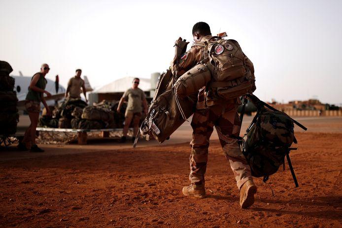 Archiefbeeld. Franse soldaten in Mali. (01/08/2021)
