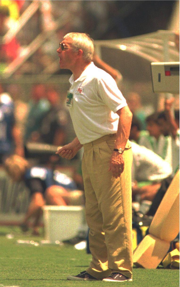 Van Himst haalde als bondscoach het WK in 1994 met de Rode Duivels.