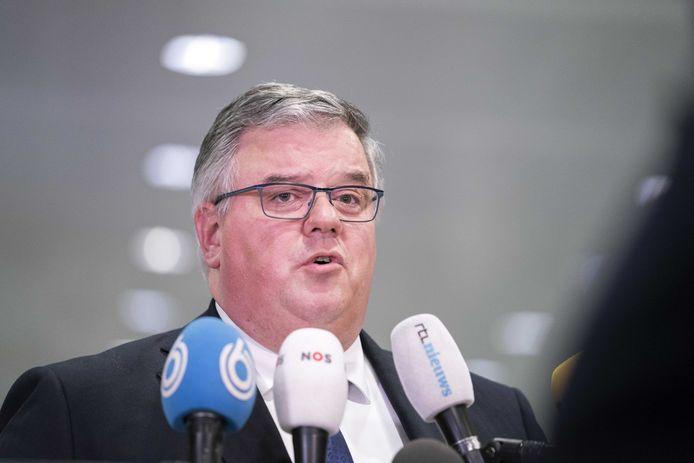 Nijmegens burgemeester Hubert Bruls.