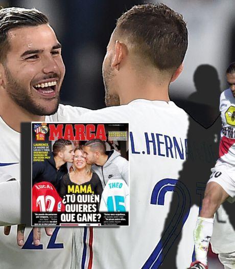 Broertjes Hernández in finale Nations League: 'We weten niet eens of onze vader nog leeft'