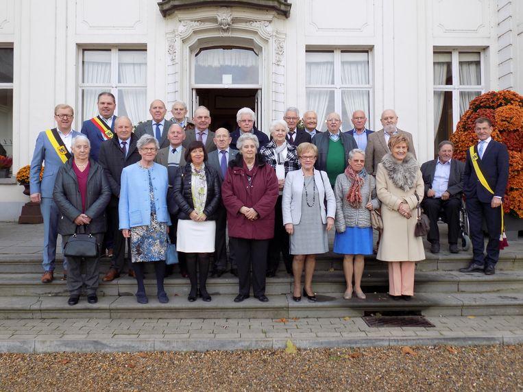De 75-jarigen van Evergem.