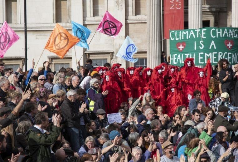 'Veel politici stereotyperen de klimaatbeweging als een bende hippies. Zo trekken ze ons in het belachelijke.' Beeld