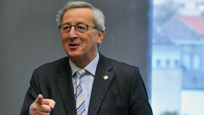 Jean-Claude Juncker, le chef de file de l'Eurogroupe.