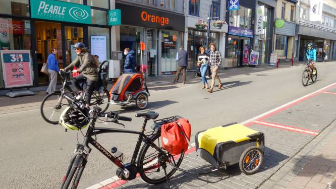 """Fietscampagne en Rebus juichen fietszone in centrum toe: """"Maar het kan nog beter"""""""