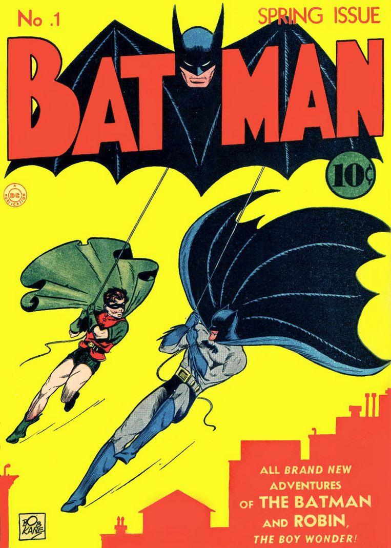 Stripboek Batman #1 uit 1940 geveild voor record van 2,2 miljoen. Beeld -