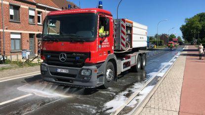 Brandweer ruimt oliespoor van zo'n 4 kilometer