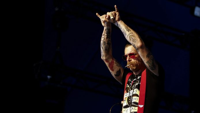 Zanger Jesse Hughes van Eagles of Death Metal