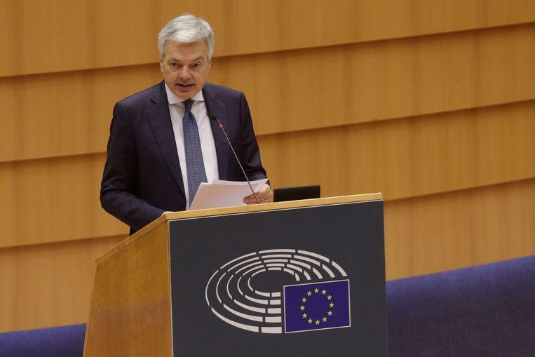 Europees commissaris Didier Reynders (MR). Beeld EPA