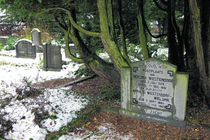 De oude begraafplaats in Dinxperlo. Foto: Theo Kock