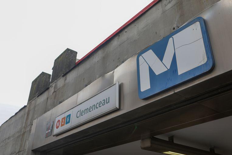 In metrostation Clemenceau zijn nog grotere werken nodig.