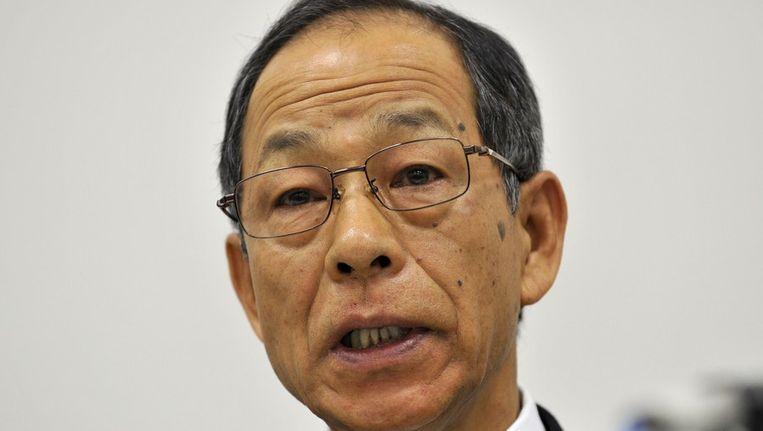 Voormalig Olympus-topman Kikukawa. Beeld afp