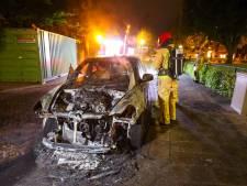 Alweer een autobrand in Eindhoven