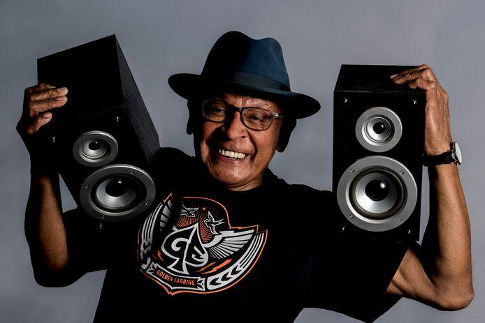 John Ohello, jarenlang bodyguard van de Golden Earring, komt in actie voor gitarist George Kooymans die de ziekte ALS heeft.