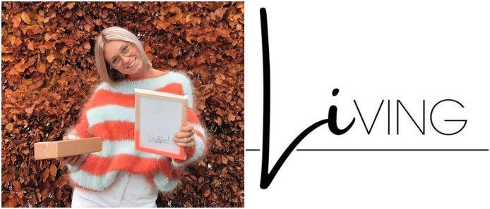 Li Elsen (20) startte haar eigen webshop Li.ving met handgemaakte accessoires en kledij.