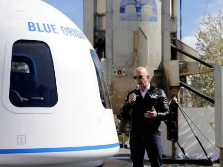 Nieuwe stap in strijd particuliere ruimtevaart: Jeff Bezos wil in juli eerste toerist in ruimte