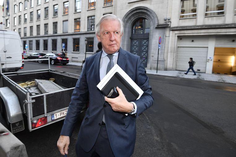 Minister van Pensioenen Daniel Bacquelaine wil het ambtenarenpensioen hervormen. Beeld BELGA