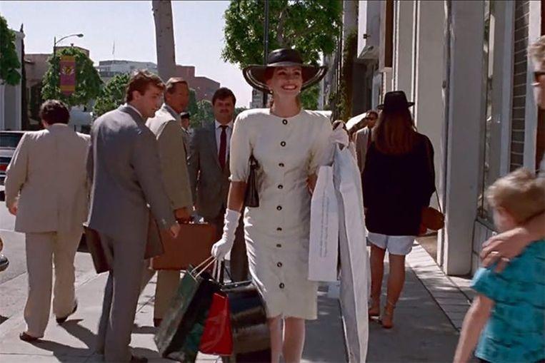 Julia Roberts in Pretty Woman. Beeld