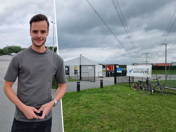 Tom Tjoelker (23) werd in Zutphen op een commerciële locatie getest voor zijn reis.