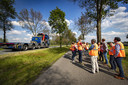 TT-2019-011136 - RUURLO / GROENLO - Leden van Provinciale Staten van Gelderland gingen woensdag ter plaatse om de situatie te bekijken.  Editie: Achterhoek Marieke Amelink - MA20190529