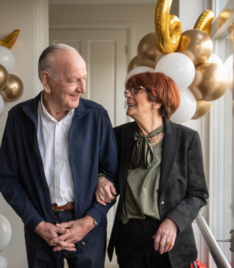 Diamant voor Mieke en Gerrit uit Wierden: 'In onze verkeringstijd vaak naar de film'