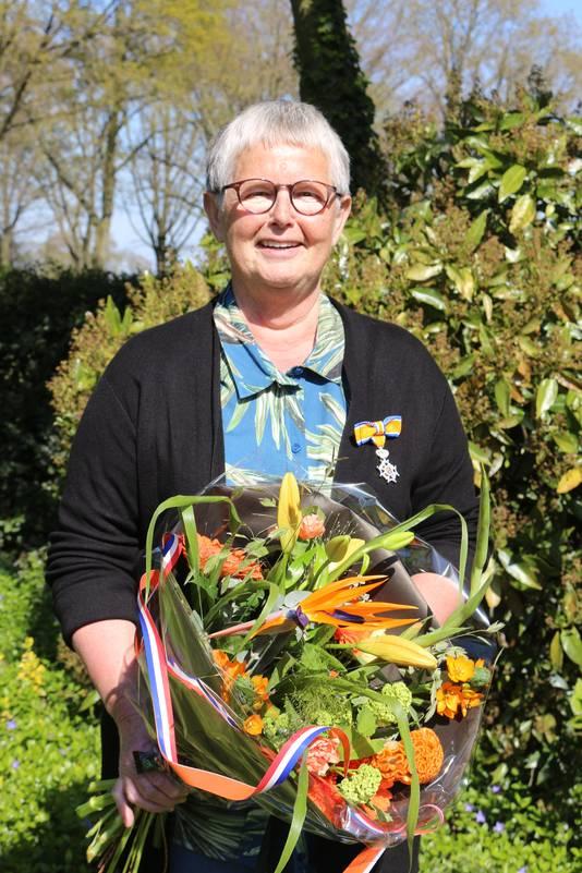 Dora Gijsbers-van den Crommenacker (69) uit Venhorst