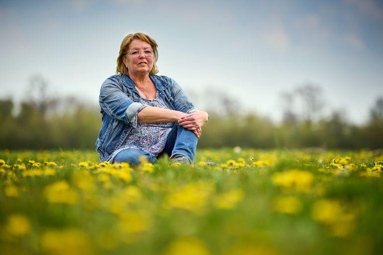 Niertransplantatiepatiënt Annelies Hilgersom uit Zoetermeer leeft al een jaar zwaar geïsoleerd vanwege haar verzwakte afweer. Beeld Phil Nijhuis