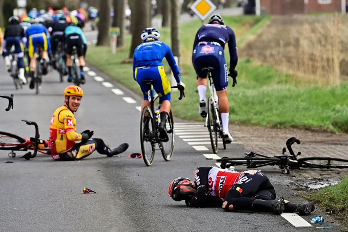 De ravage in de Scheldeprijs is groot.