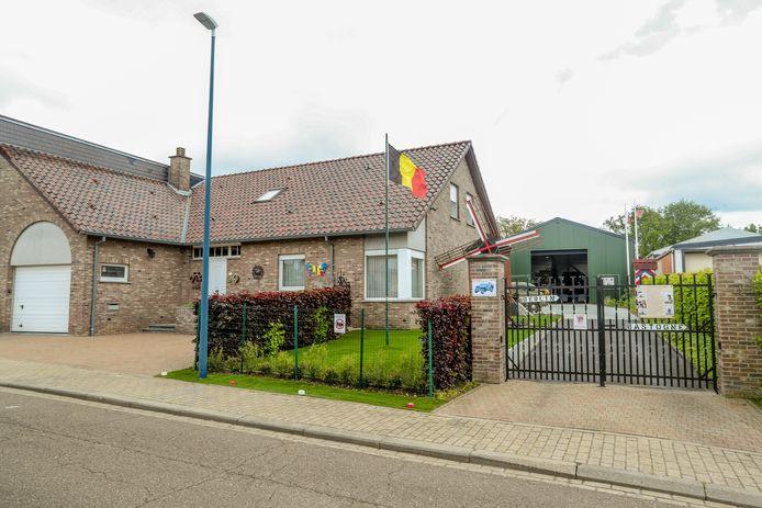 Het huis aan Schoolstraat 8 in Kortenaken.