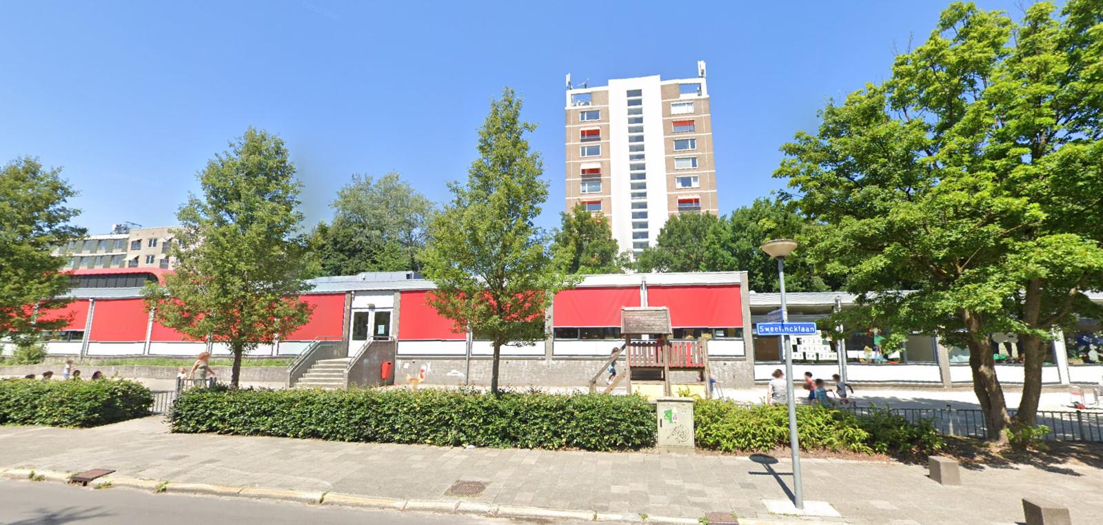 De basisschool in Groningen.