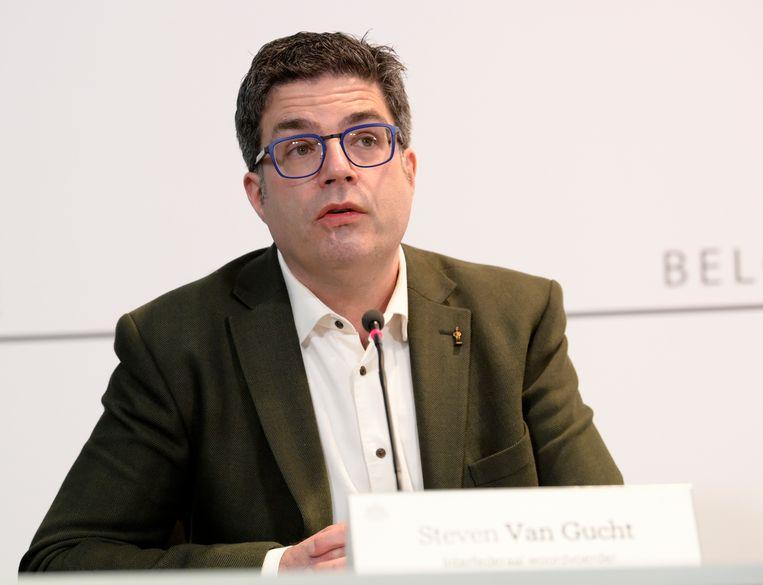 Viroloog Steven Van Gucht  Beeld BELGA