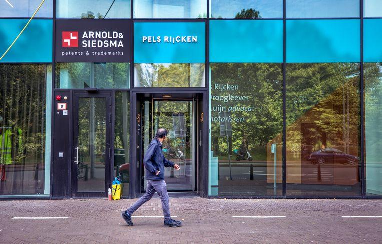 Het kantoor van landsadvocaat Pels Rijcken in Den Haag. Beeld Raymond Rutting / de Volkskrant