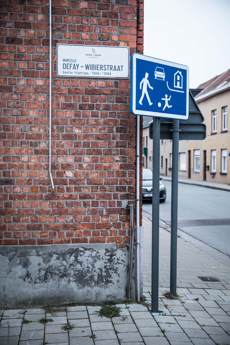 De Marcelle Defay-Wibierstraat in Sint-Amandsberg.