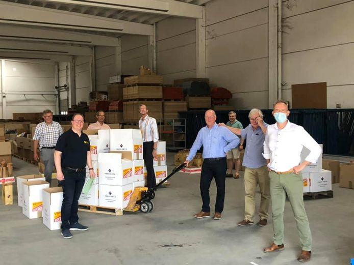 Rotary Club Ronse stuurde al 350 voedselpakketten naar het rampgebied.
