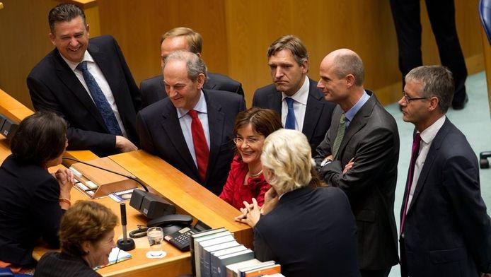 Voorzitter van de Tweede Kamer Gerdi Verbeet riep woensdag de verschillende fractievoorzitters naar zich toe voor overleg, voorafgaand aan de algemene beschouwingen.