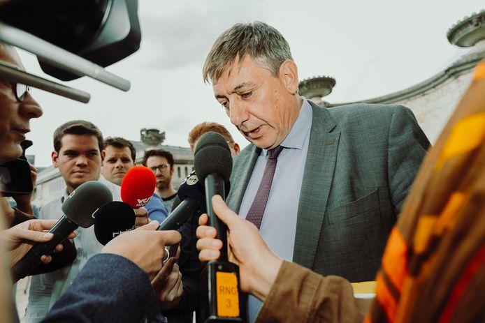 Jan Jambon wordt Vlaams minister-president.