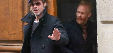 Brad Pitt aperçu en fauteuil roulant quelques jours avant les Oscars