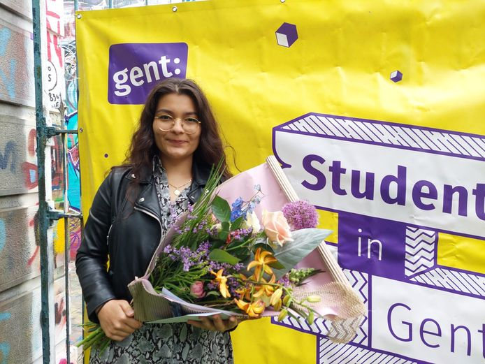 Student van het jaar - winnaar Nikola Balogova